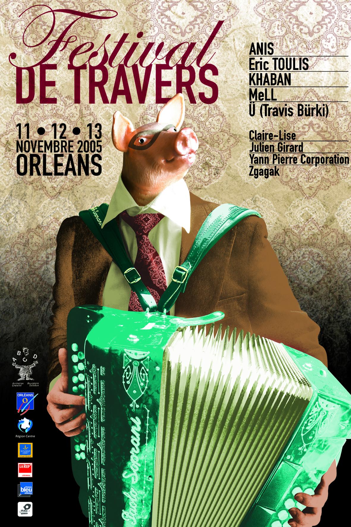 Affiche Festival de Travers 2005