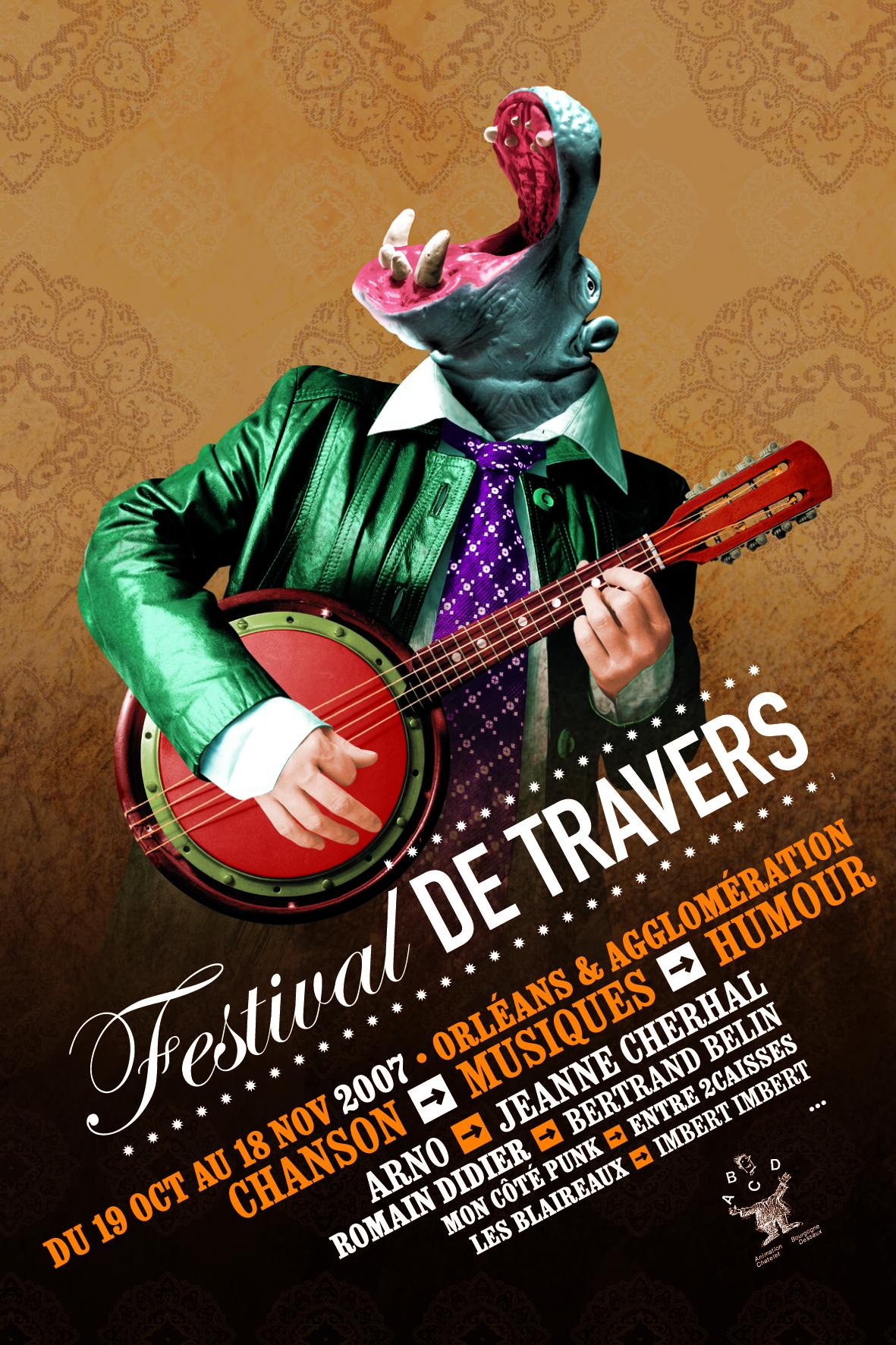 Affiche Festival de Travers 2007