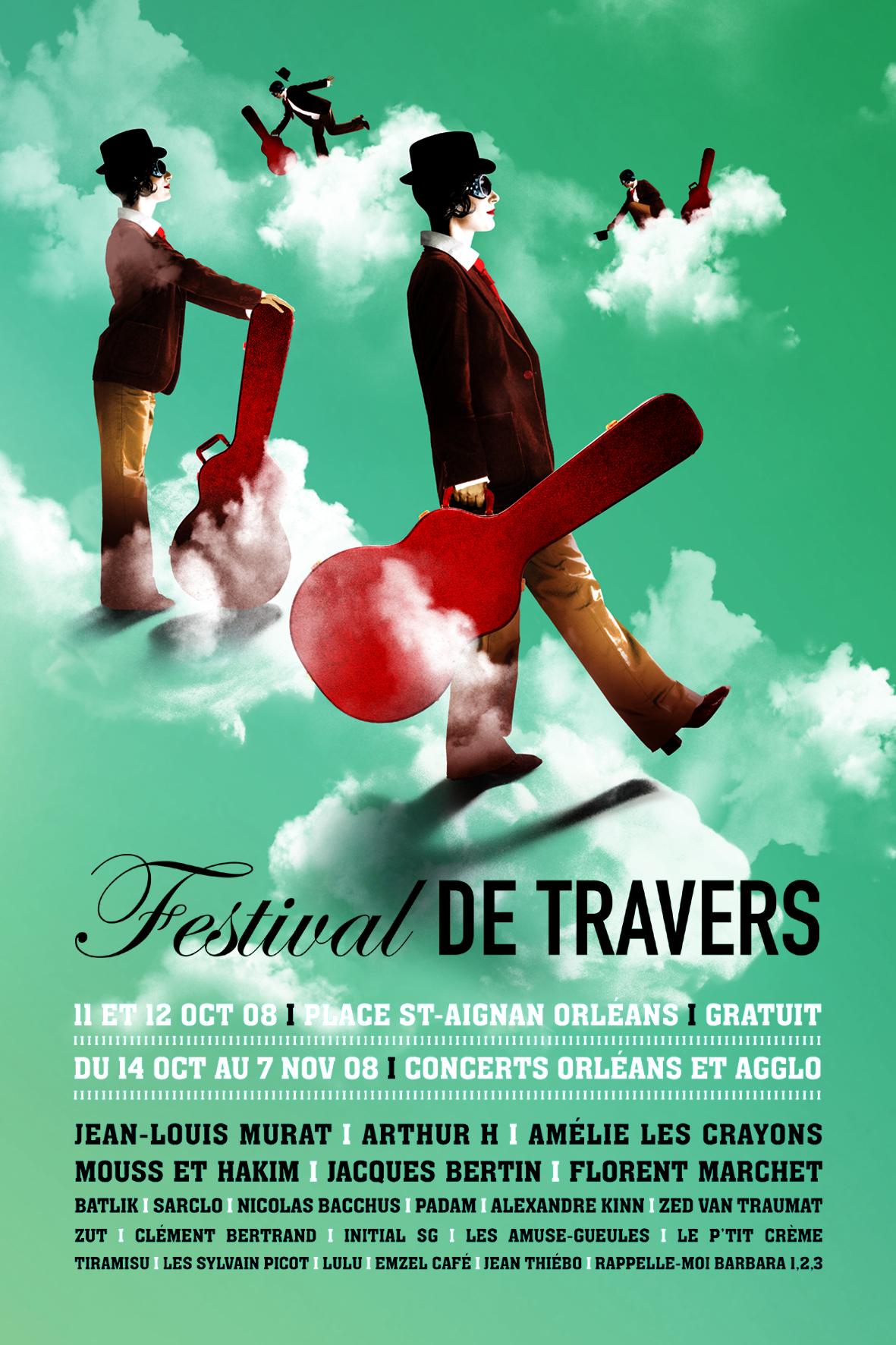 Affiche Festival de Travers 2008