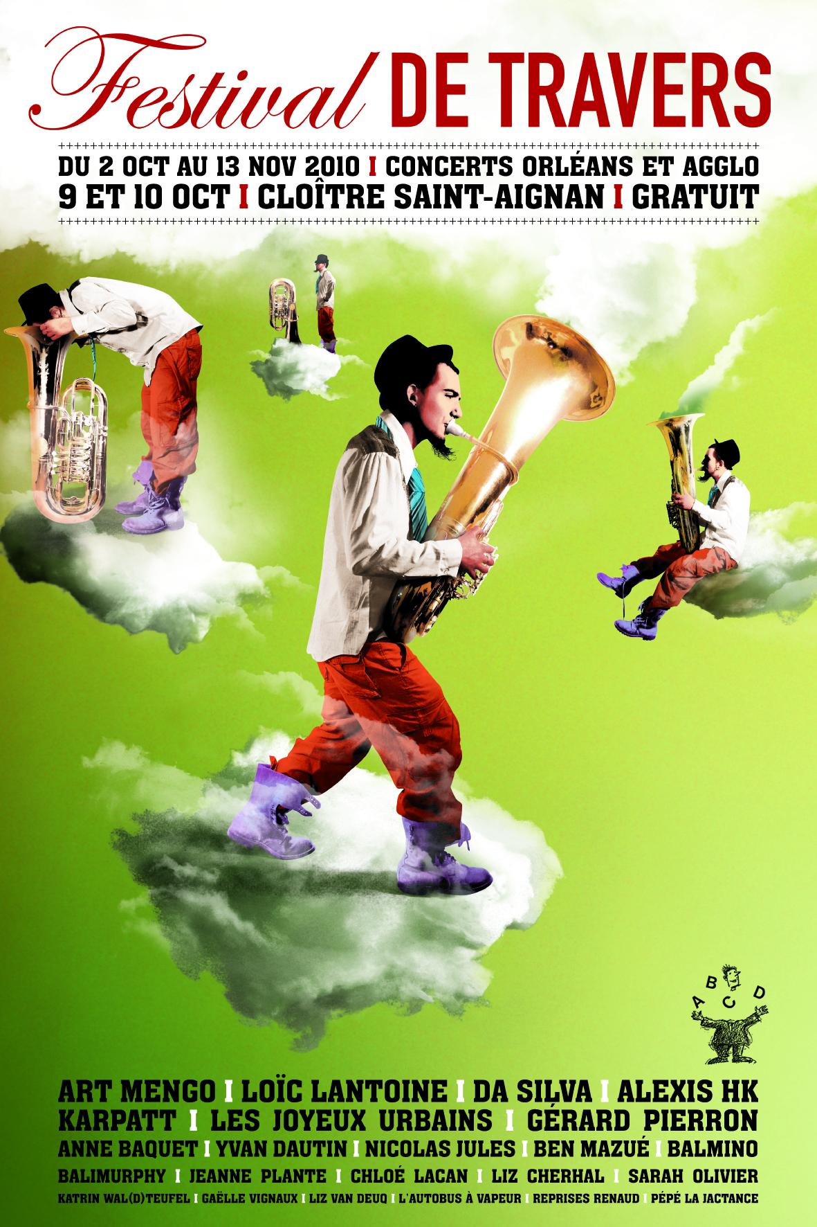 Affiche Festival de Travers 2009