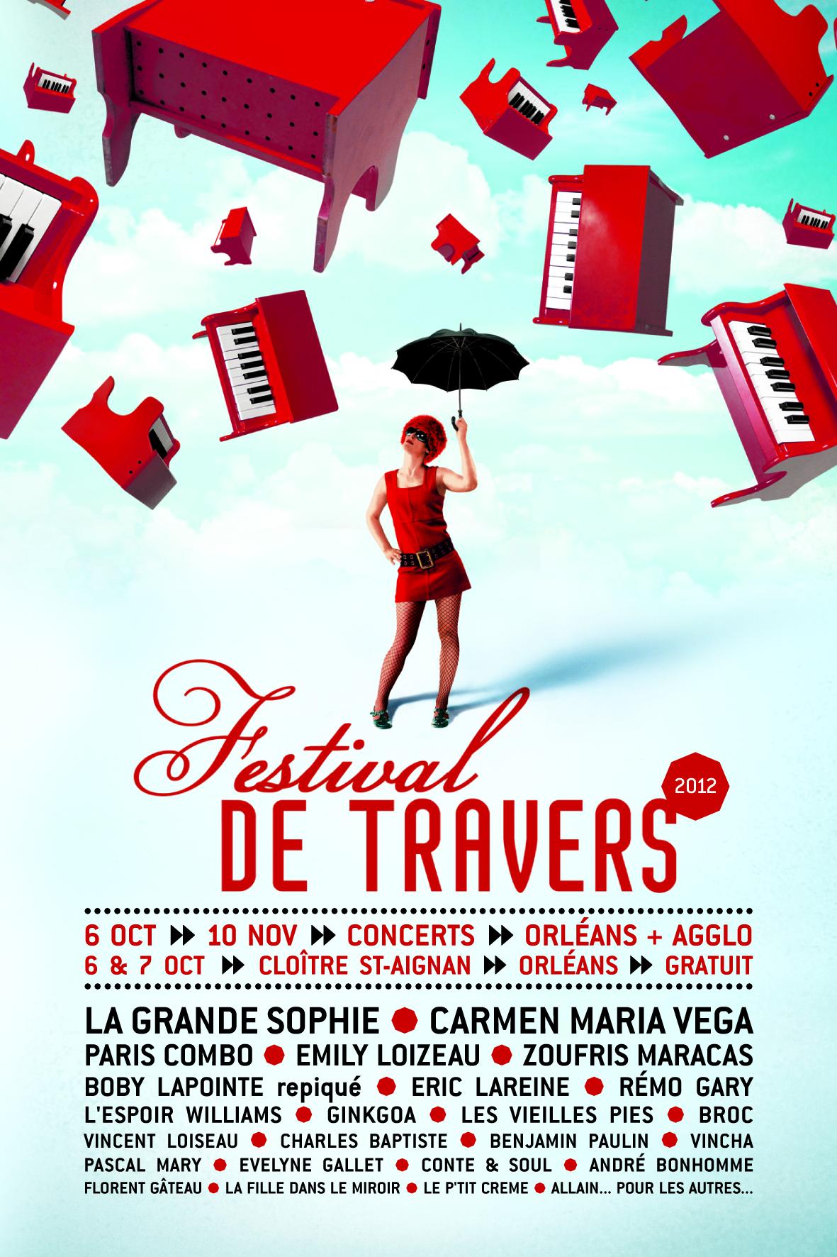 Affiche Festival de Travers 2012