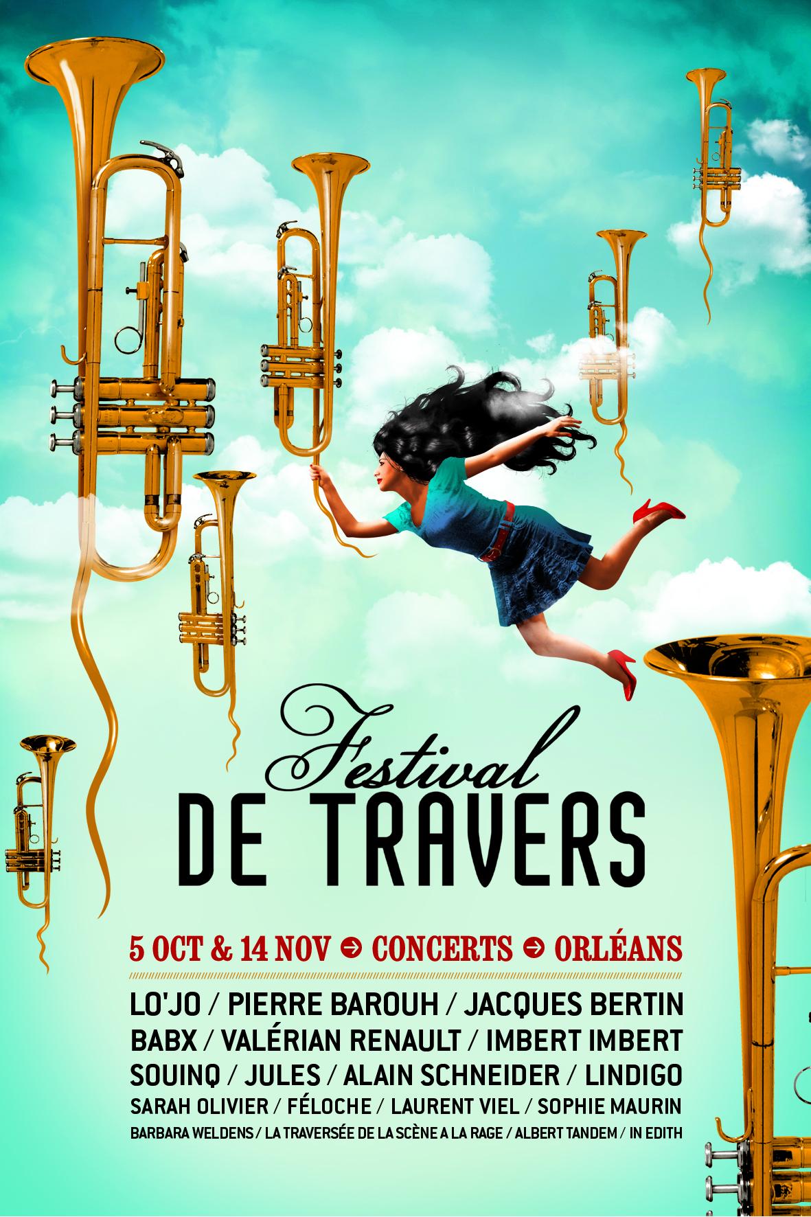 Affiche Festival de Travers 2013