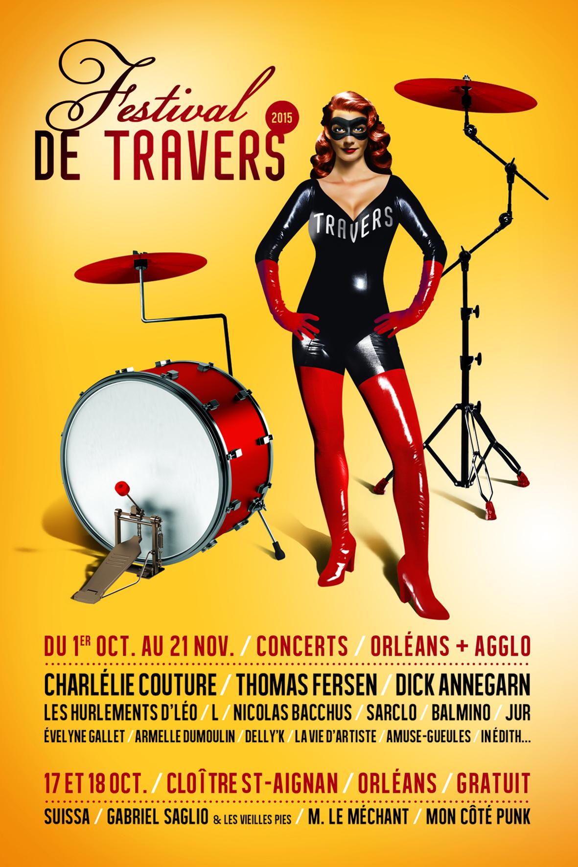 Affiche Festival de Travers 2015