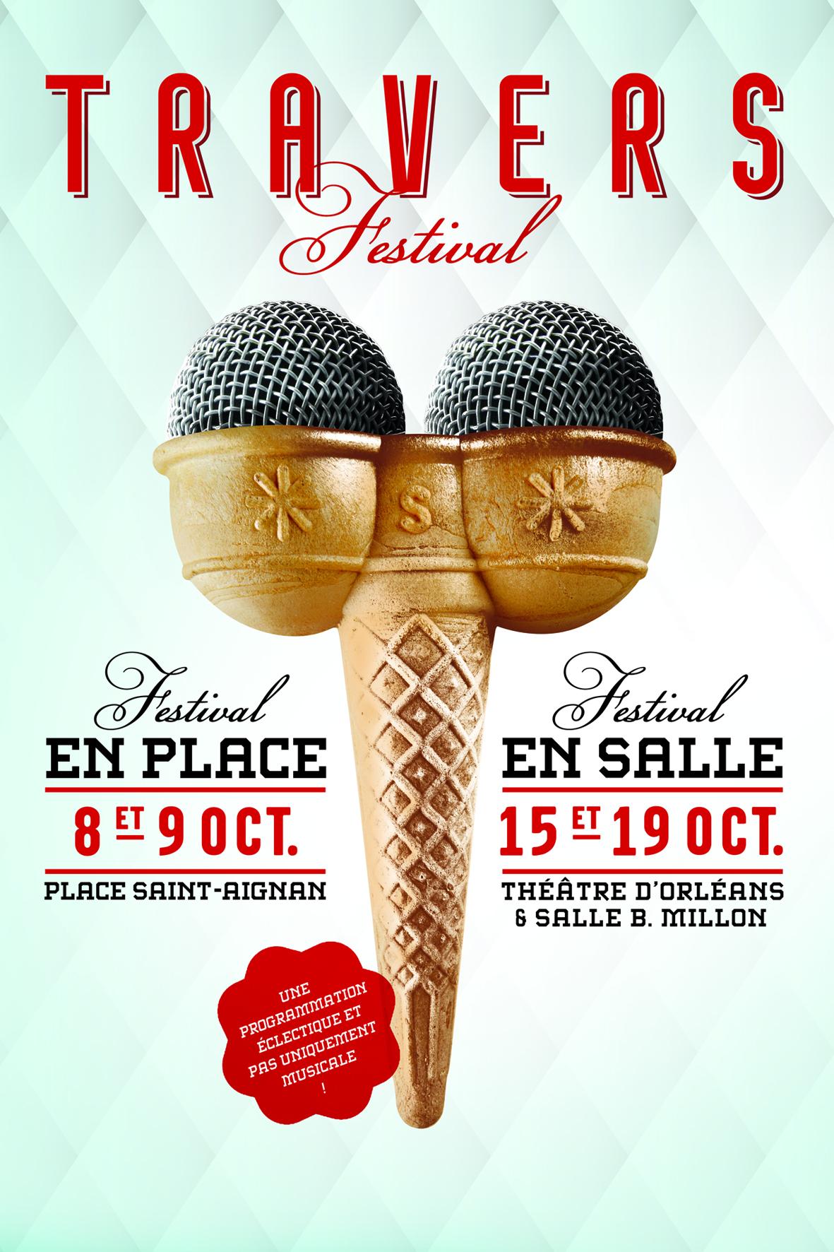 Affiche Festival de Travers 2016