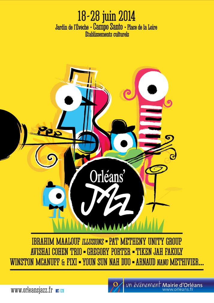 Festival Orléans' Jazz Affiche 2014