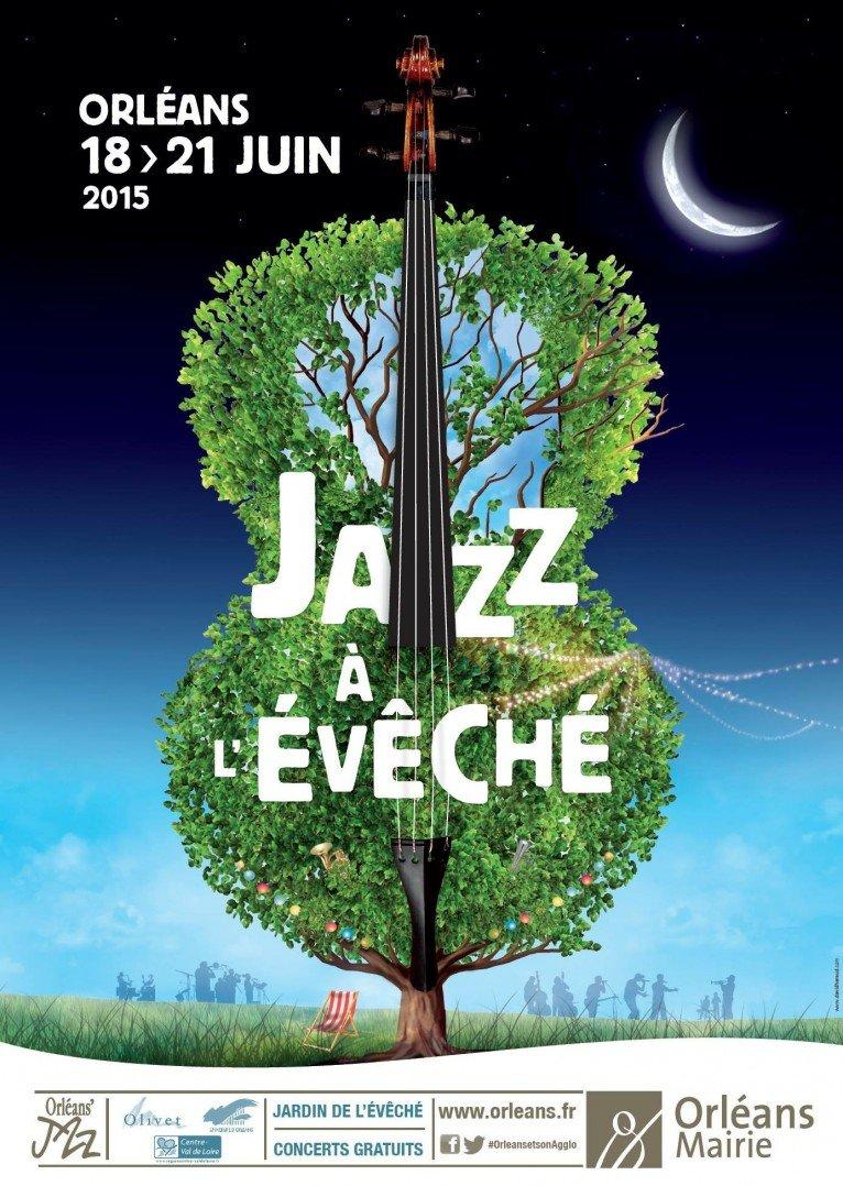 Festival Jazz à l'Évêché Affiche 2015