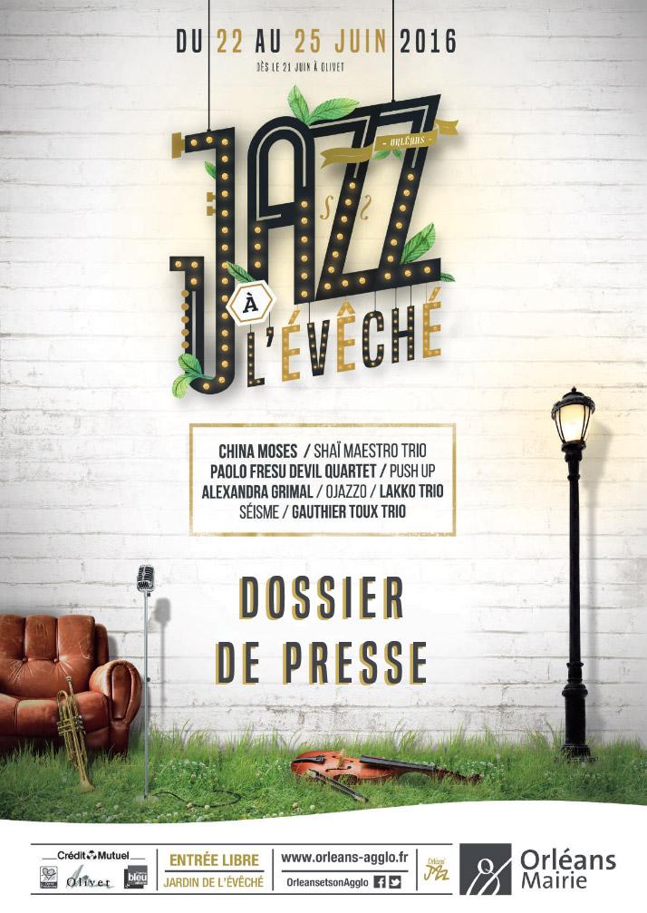 Festival Jazz à l'Évêché Affiche 2016