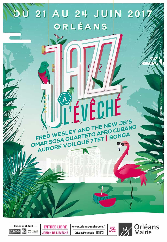 Festival Jazz à l'Évêché Affiche 2017