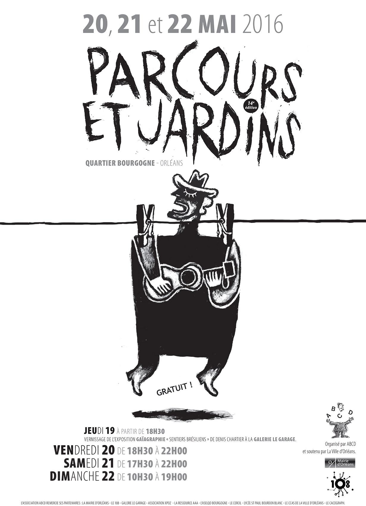 Affiche Parcours & Jardins 2016