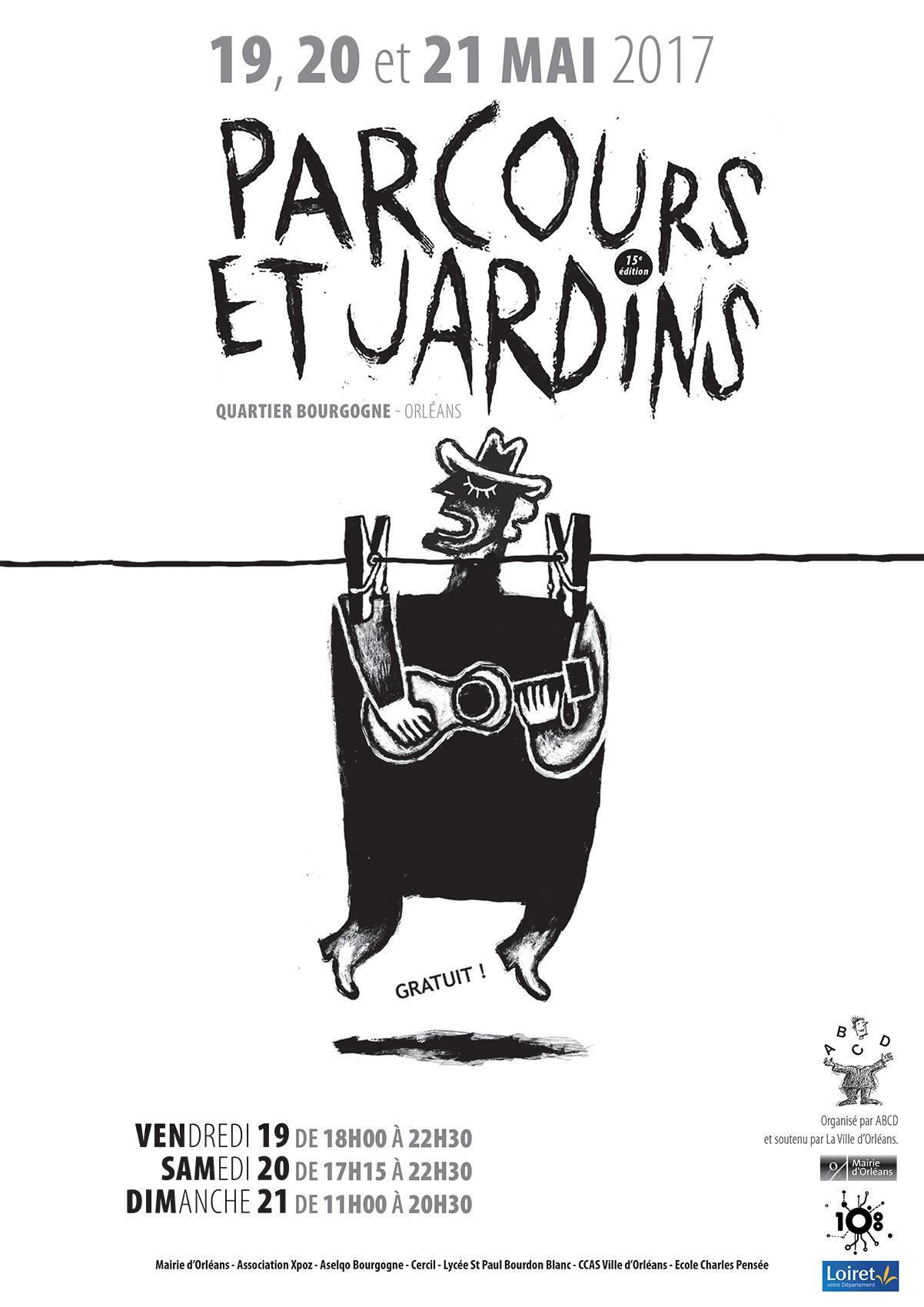 Affiche Parcours & Jardins 2017