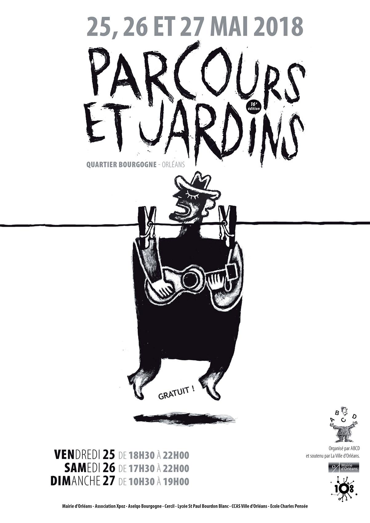 Affiche Parcours & Jardins 2018