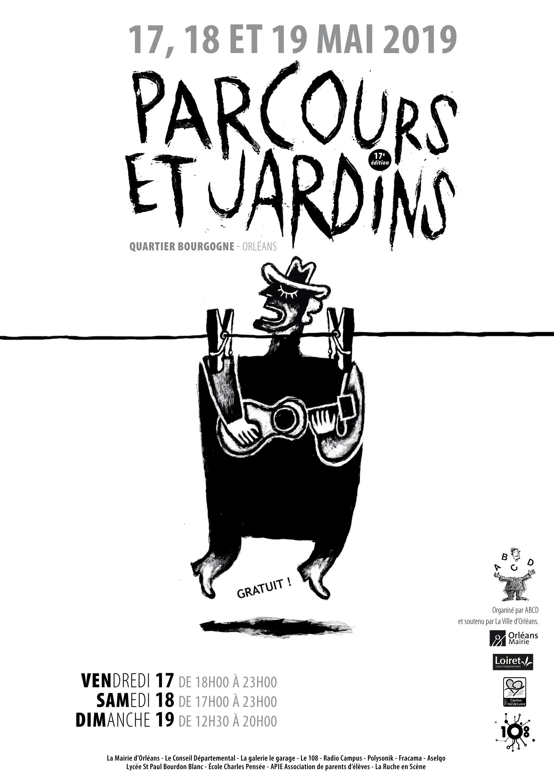 Affiche Parcours & Jardins 2019