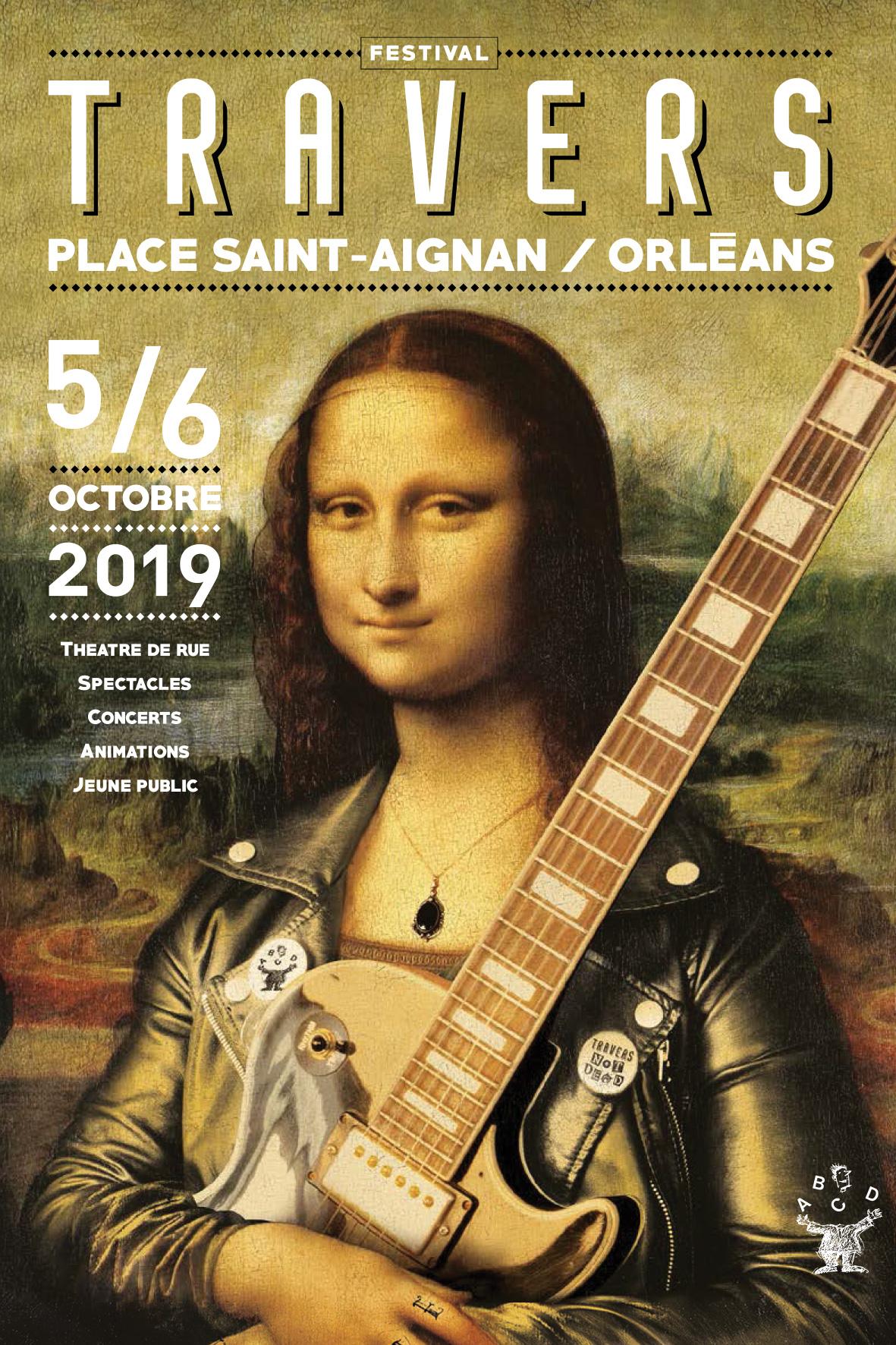Affiche Festival de Travers 2019